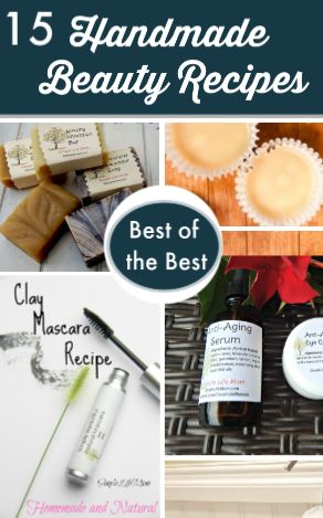 15 Best Handmade Beauty Products 2018