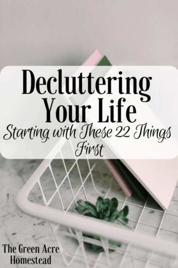 Homestead Bog Hop Feature - Decluttering-Your-Life