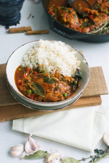Homestead Blog Hop Feature - Authentic Peruvian Chicken Stew