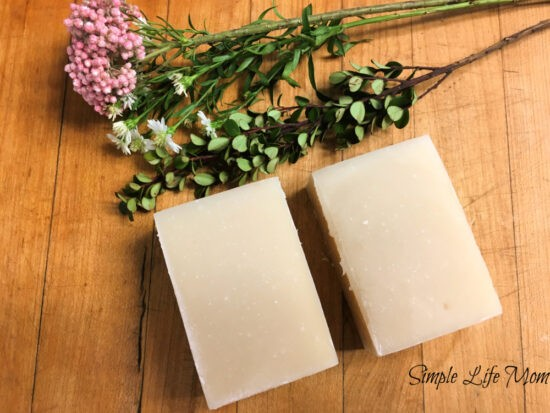 2 Allergy Relief Soap Recipes - Cold Process Soap recipe by Simple Life Mom