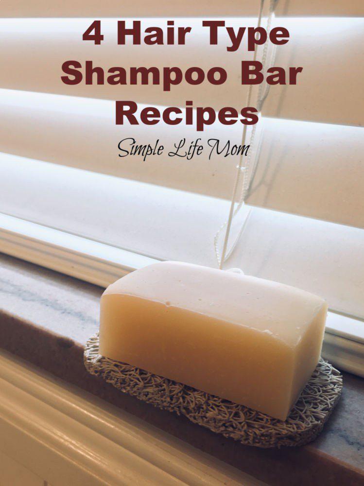 4 Hair Type Shampoo Bar Recipes