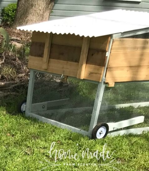 Homestead Blog Hop Feature - How to Build a Chicken Tractor