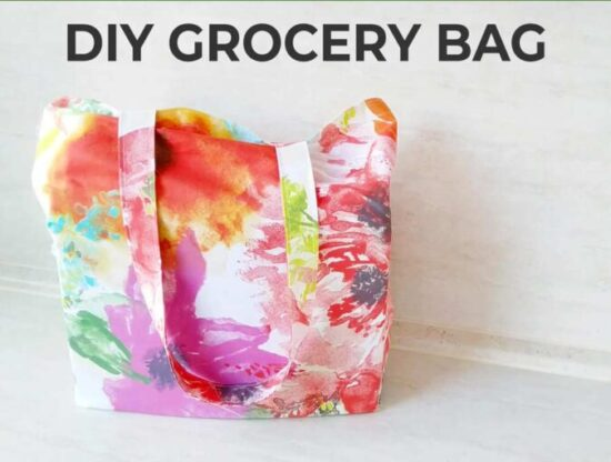 Homestead Blog Hop Feature - diy-reusable-grocery-bag