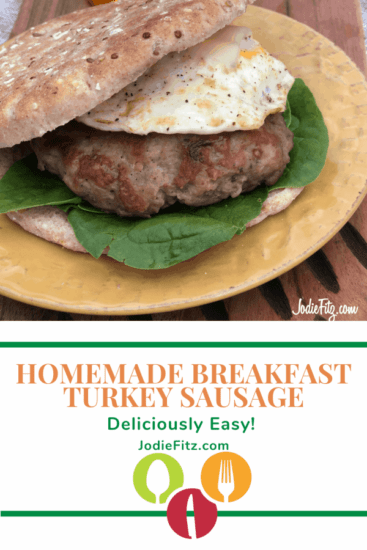 Homestead Blog Hop Feature - Homemade-Breakfast-Turkey-Sausage