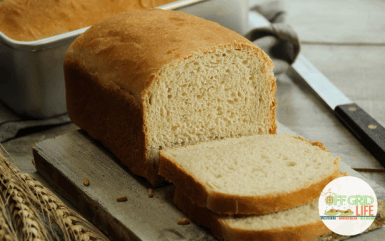 Homestead Blog Hop Feature - Homemade Sandwich Bread Recipe