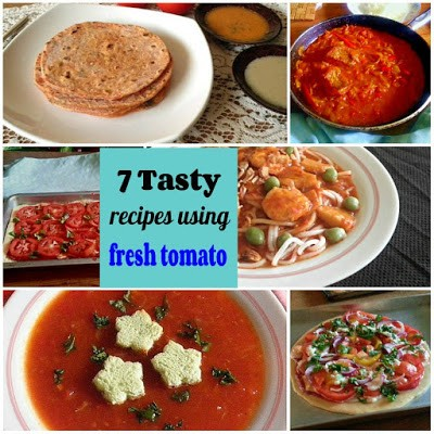 Homestead Blog Hop Feature - 7 tasty recipes using fresh tomato