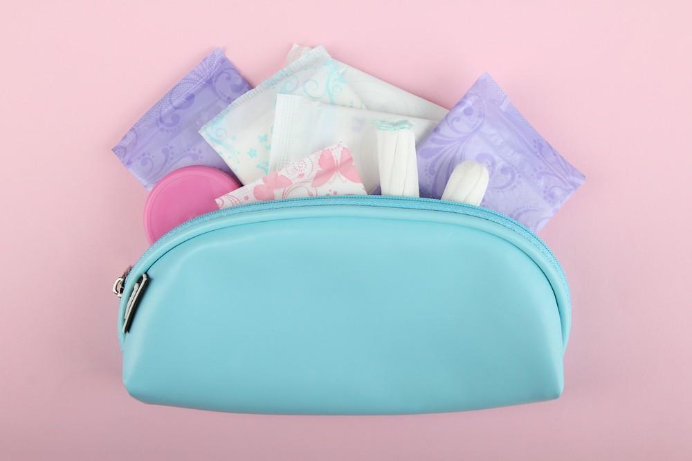 Hygiene,Feminine,Pads,,Tampon,Menstruation,In,The,Beautician