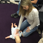 Learning CPR.