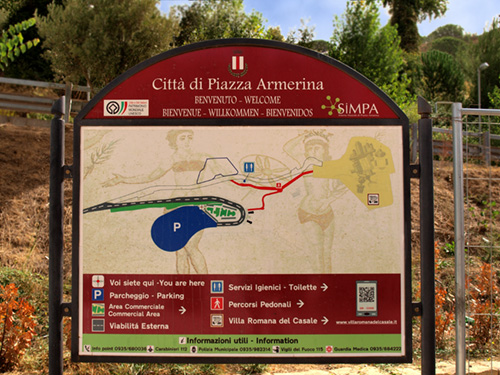 Entrance to Villa Romana