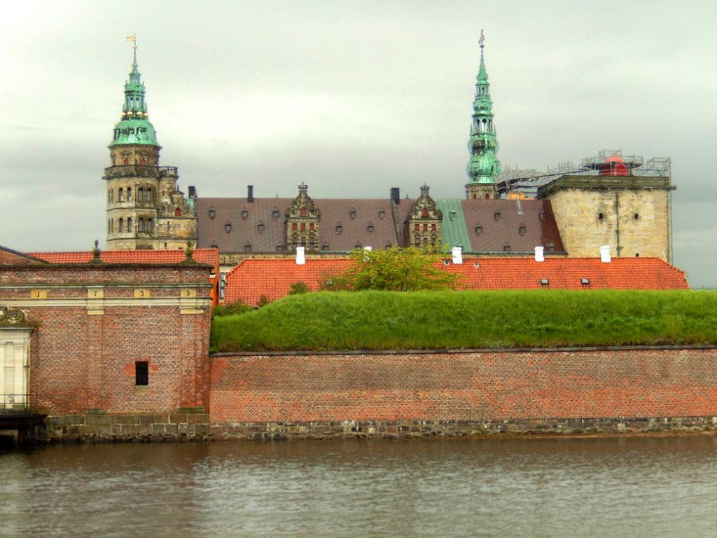 View of Kronborg castle