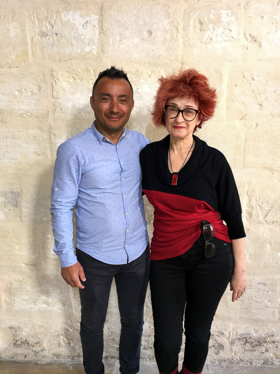 Irene Shaland and Clive Cortis