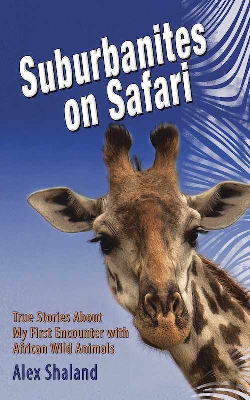 book cover of suburbanites on safari