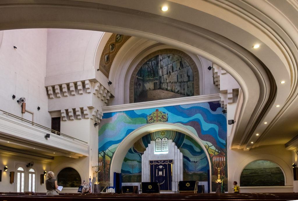 Interior of Grand Temple, Rio de Janeiro