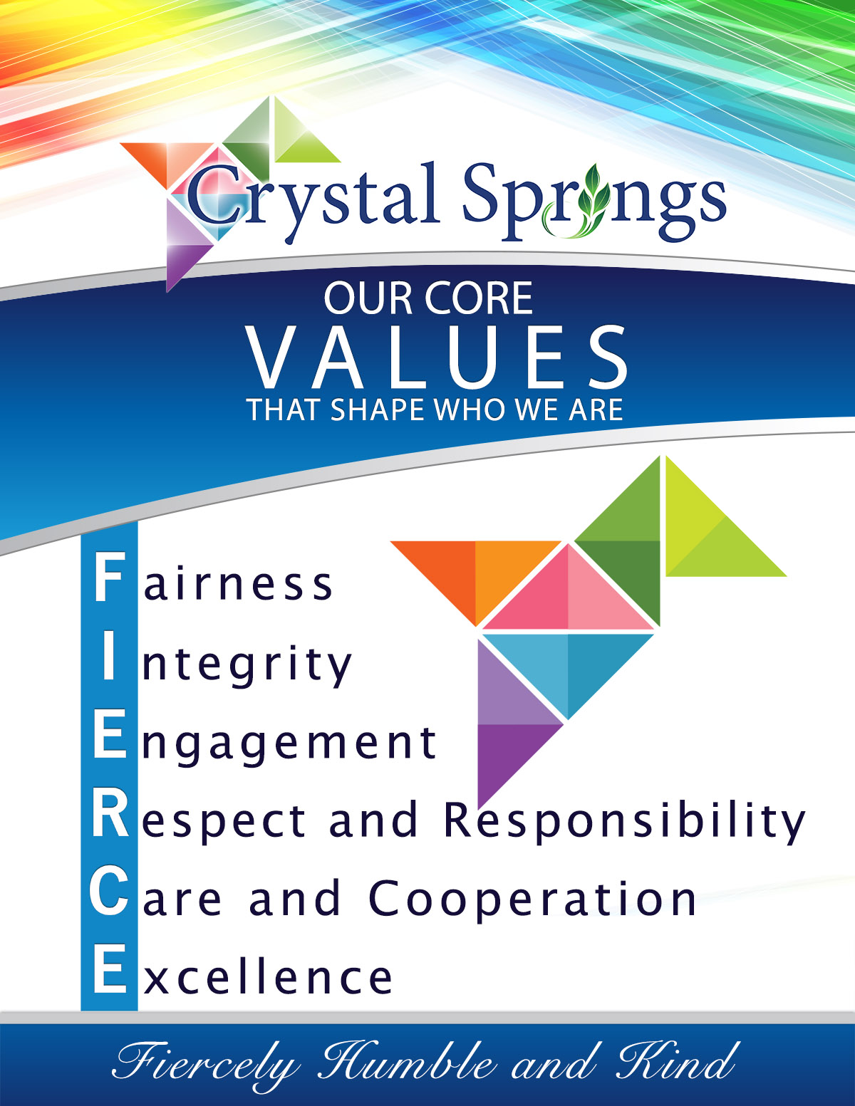 Core Values Graphic