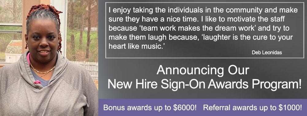 New Hire Awards