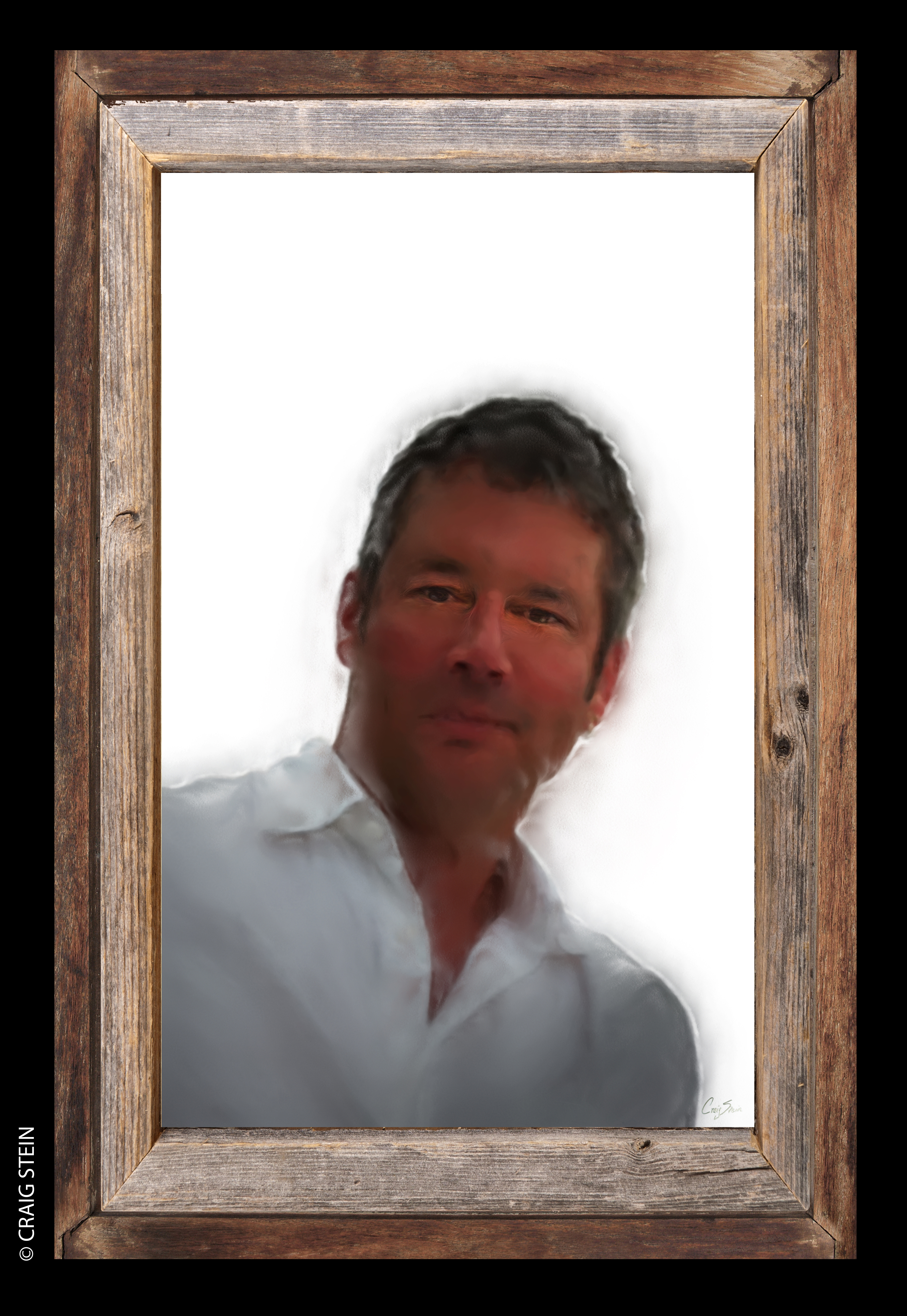 Steve Hodges Portrait By Craig Stein