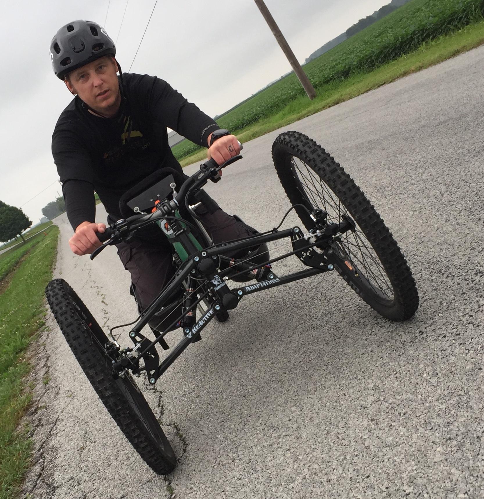 GoHawkeye grant helps Ben Hulin buy handcycle