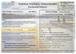 Wedding Videography Scotland Packages