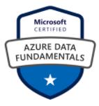 Azure Data Fundamentals Badge Image