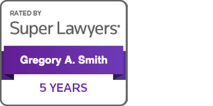 Gregory A. Smith, Esquire 5 Years Super Lawyer