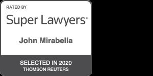 John Mirabella, Esquire 2020 Super Lawyer