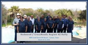 Texas Regional Rally Attendeess March 2016