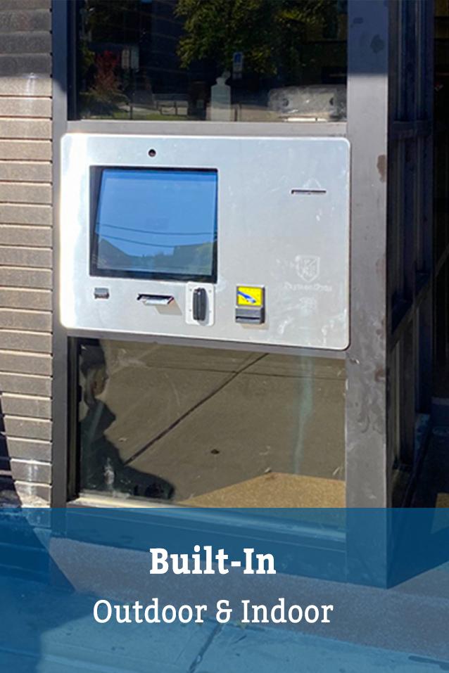 Built-In Payment Kiosk