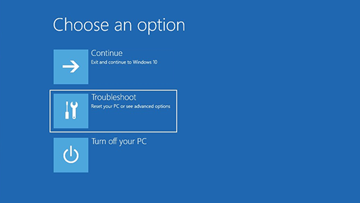Reset Windows 10 User Password With Third Party Software options