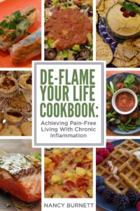 De-Flame Your Life Cookbook by Nancy Barnett