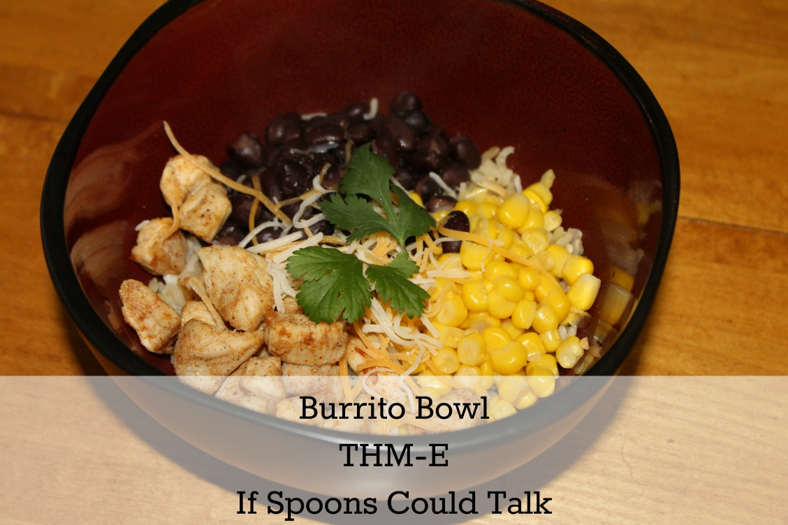 Great weeknight meal for picky eaters. This healthy burrito bowl will please everyone. THM-E