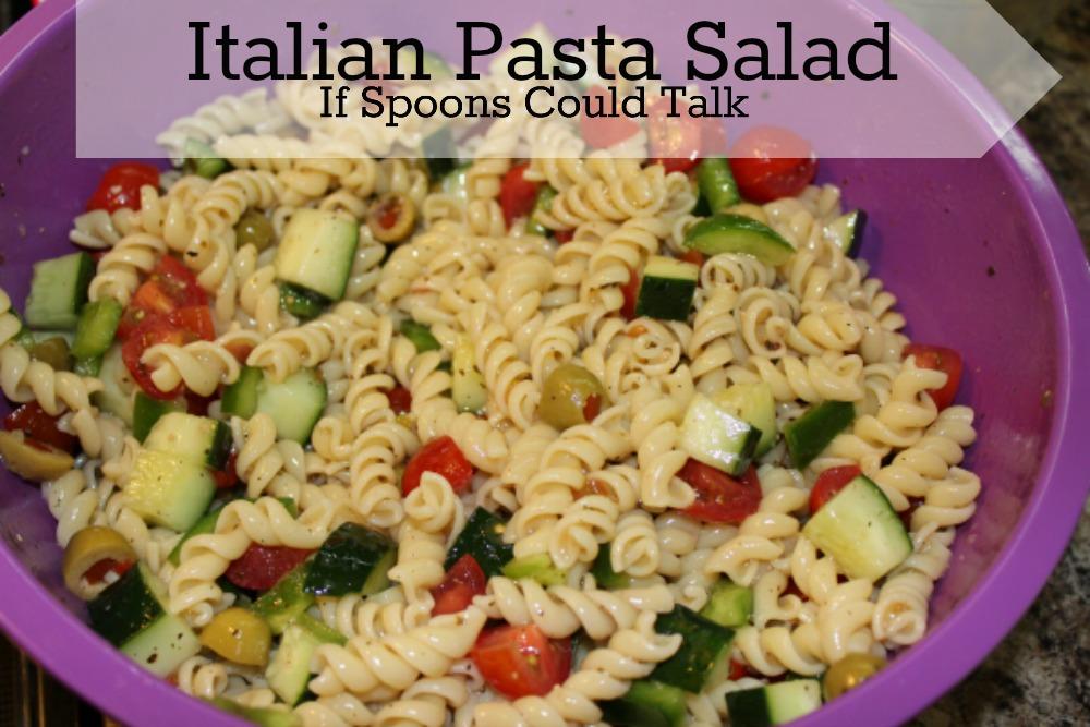 italian pasta slaad