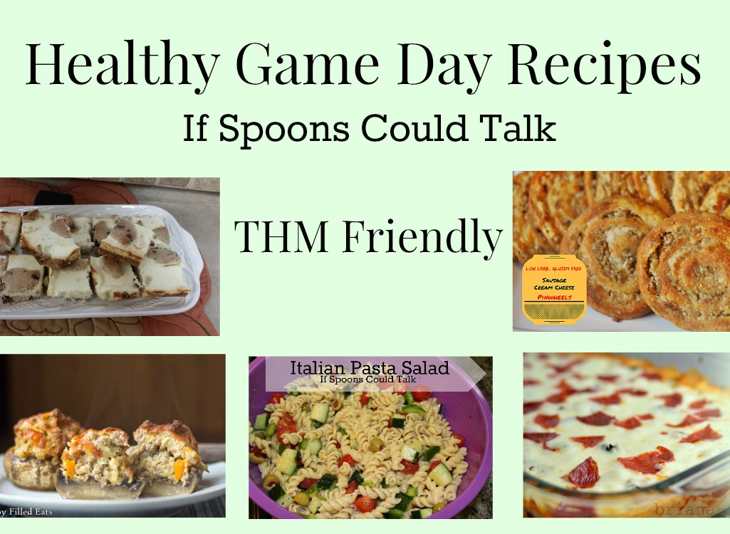 Healthy game day recipes that fit in Trim Healthy Mama S