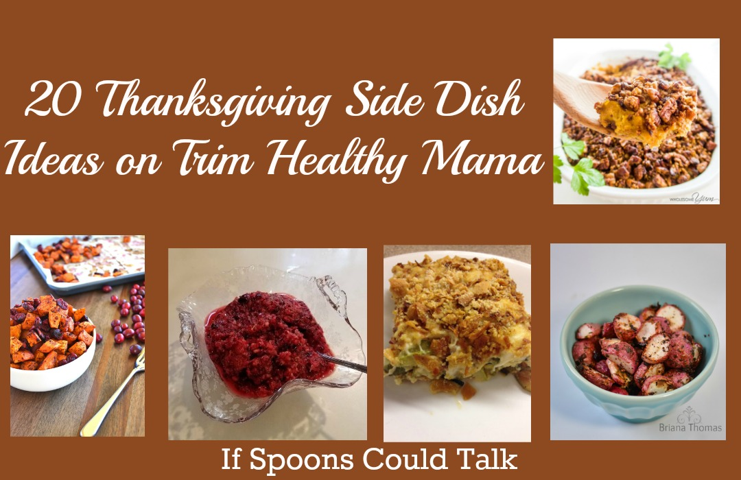 Thanksgiving Side Dish THM style. Find tasty healthy side dishes for your Thanksgiving meal. #Trimhealthymama #lowcarb