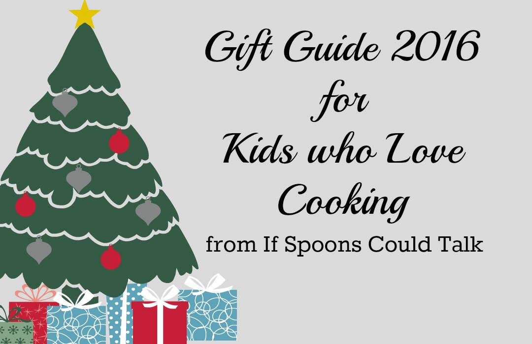 Gift ideas for kids who like to cook. Fun and easy ideas to encourage children to explore in the kitchen.