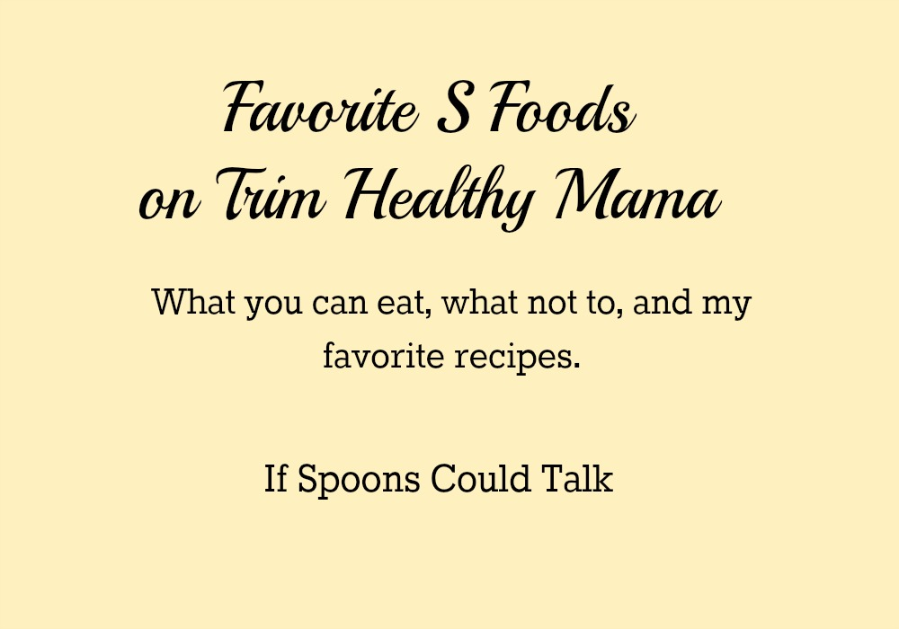 Get started on THM with this S food list guide. Complete with what to avoid!