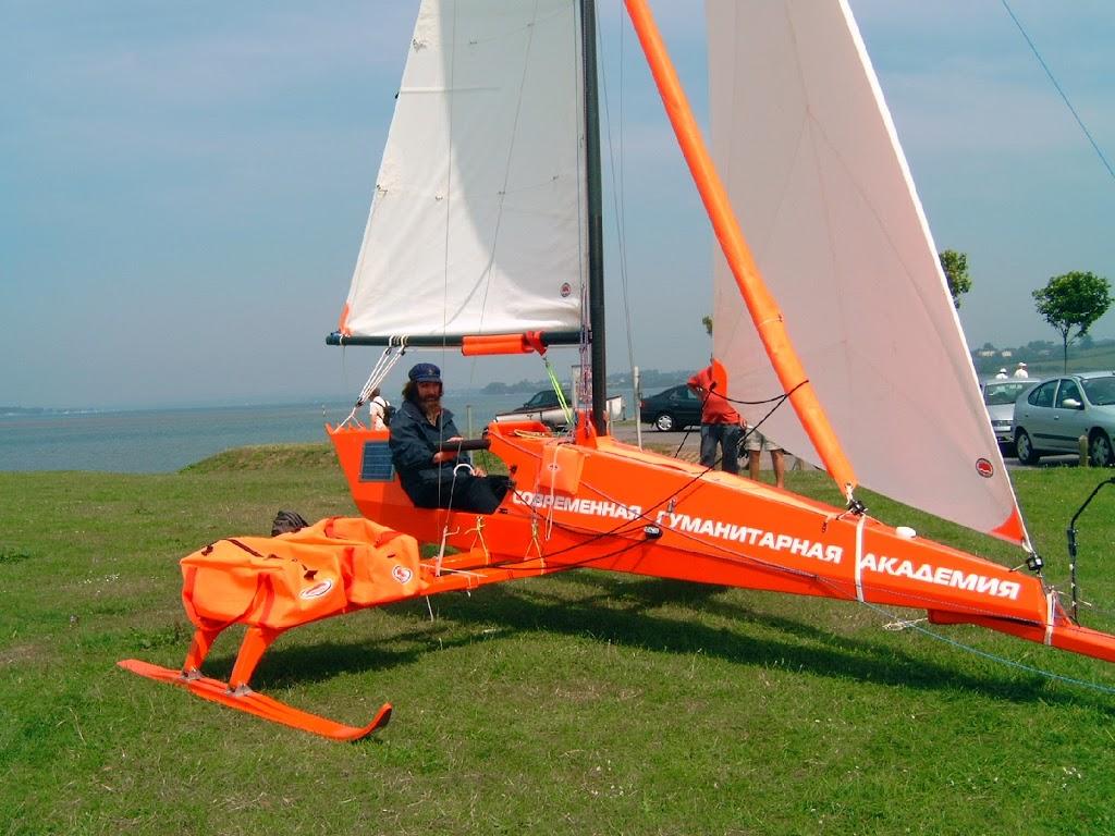 Fedor Konyukhov Iceboat