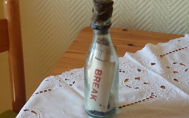Il messaggio nella bottiglia più vecchio mai ritrovato