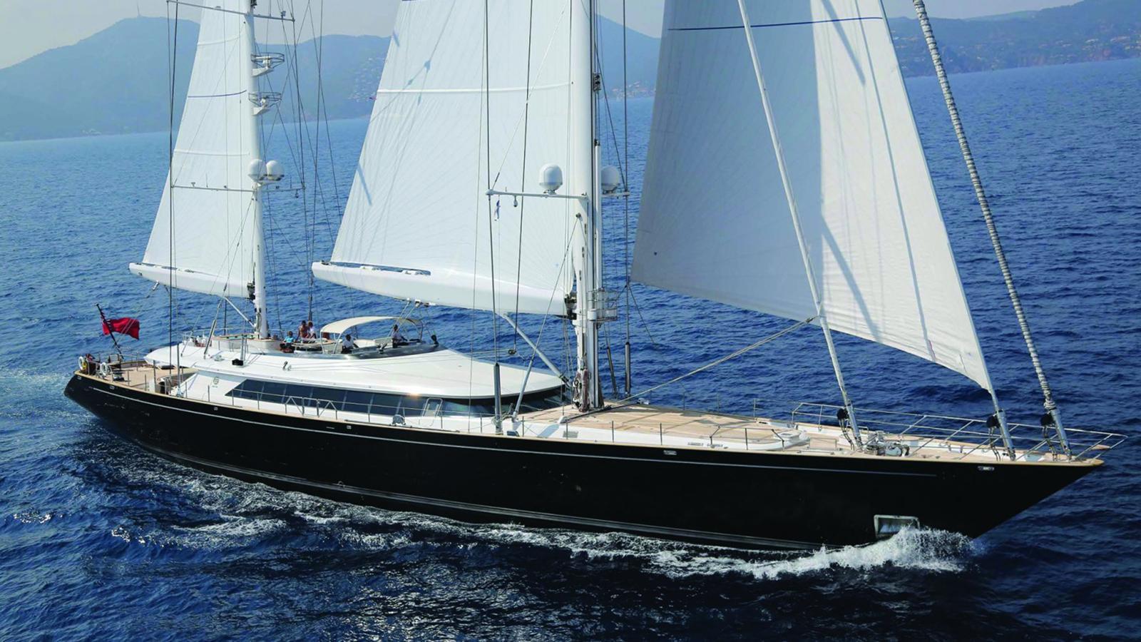 Parsifal 3 yacht sailing