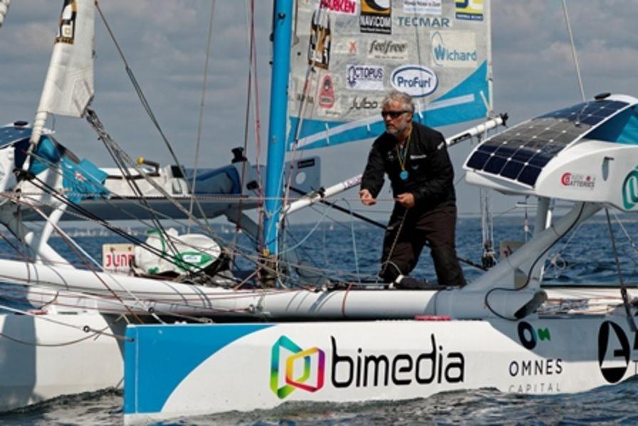 Yvan Bourgnon e il suo catamarano non abitabile
