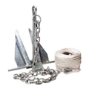 Come scegliere l'ancora e la catena in base alla barca