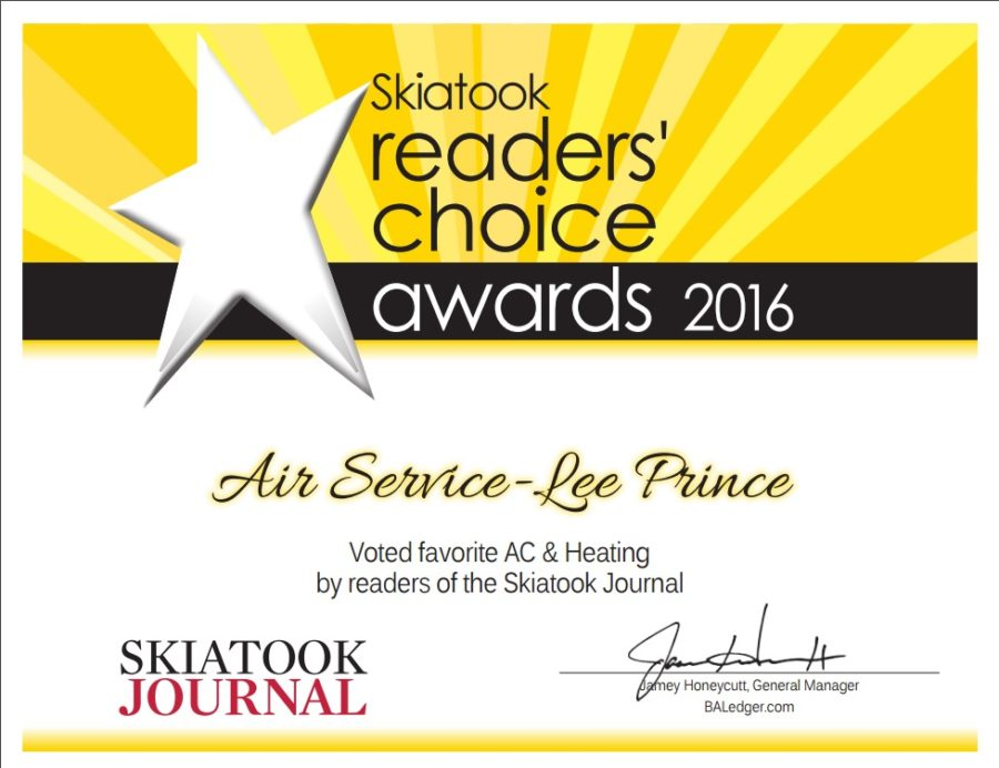 air service award 2016