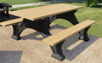 Recycled Plastic Outdoor Furniture & Plastic Lumber