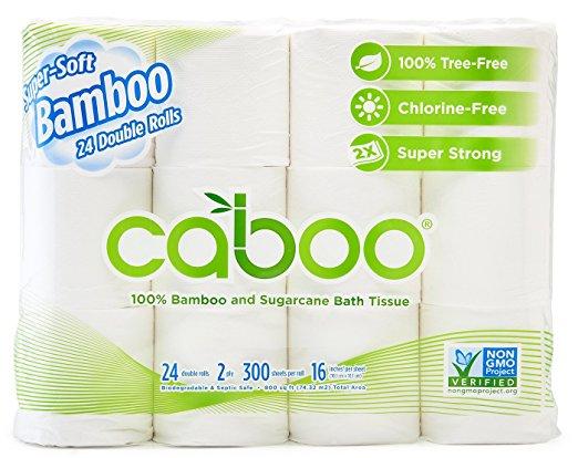 Bamboo Toilet Paper, Tree Free