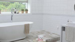 water-saving bathroom