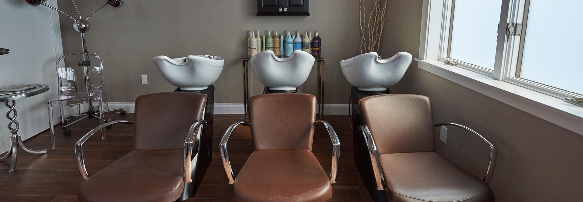 salon22 hair washing stations