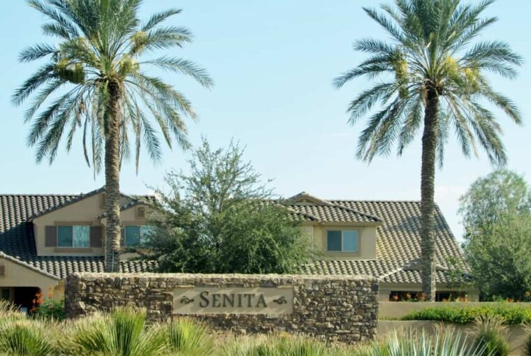 Homes for sale in Senita subdivision in Maricopa