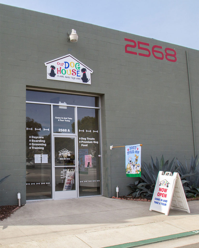 Our Dog House Store Front (Ventura, CA)