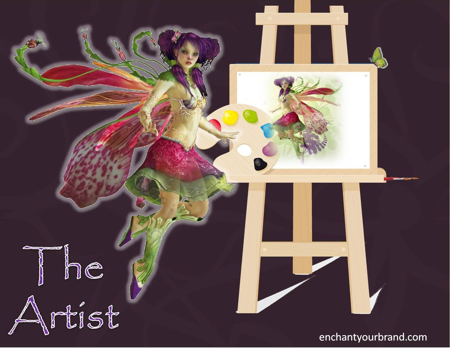 Enchanting with Archetypes ~The Artist