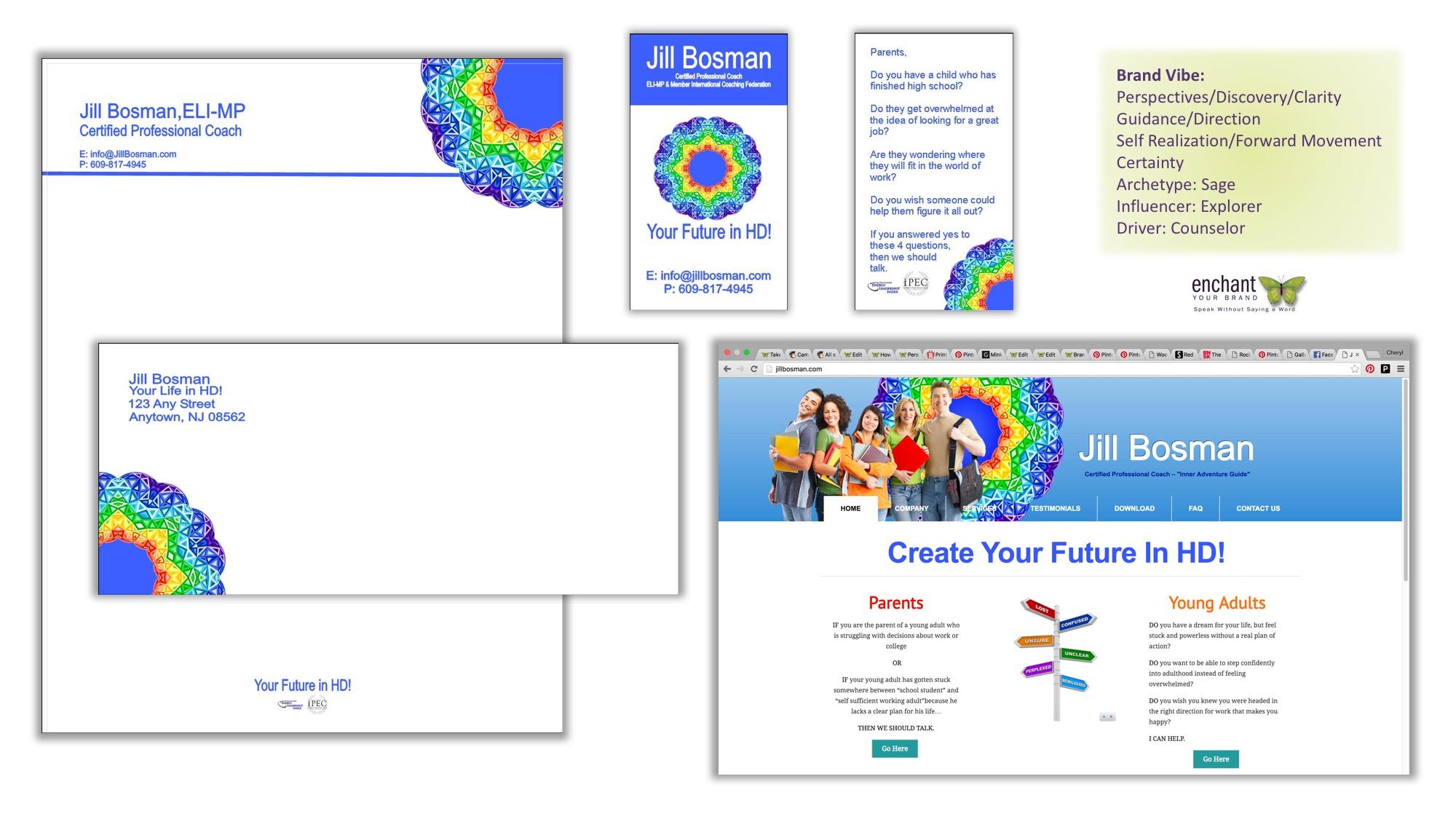 Brand Identity Kit & Website Design Concept