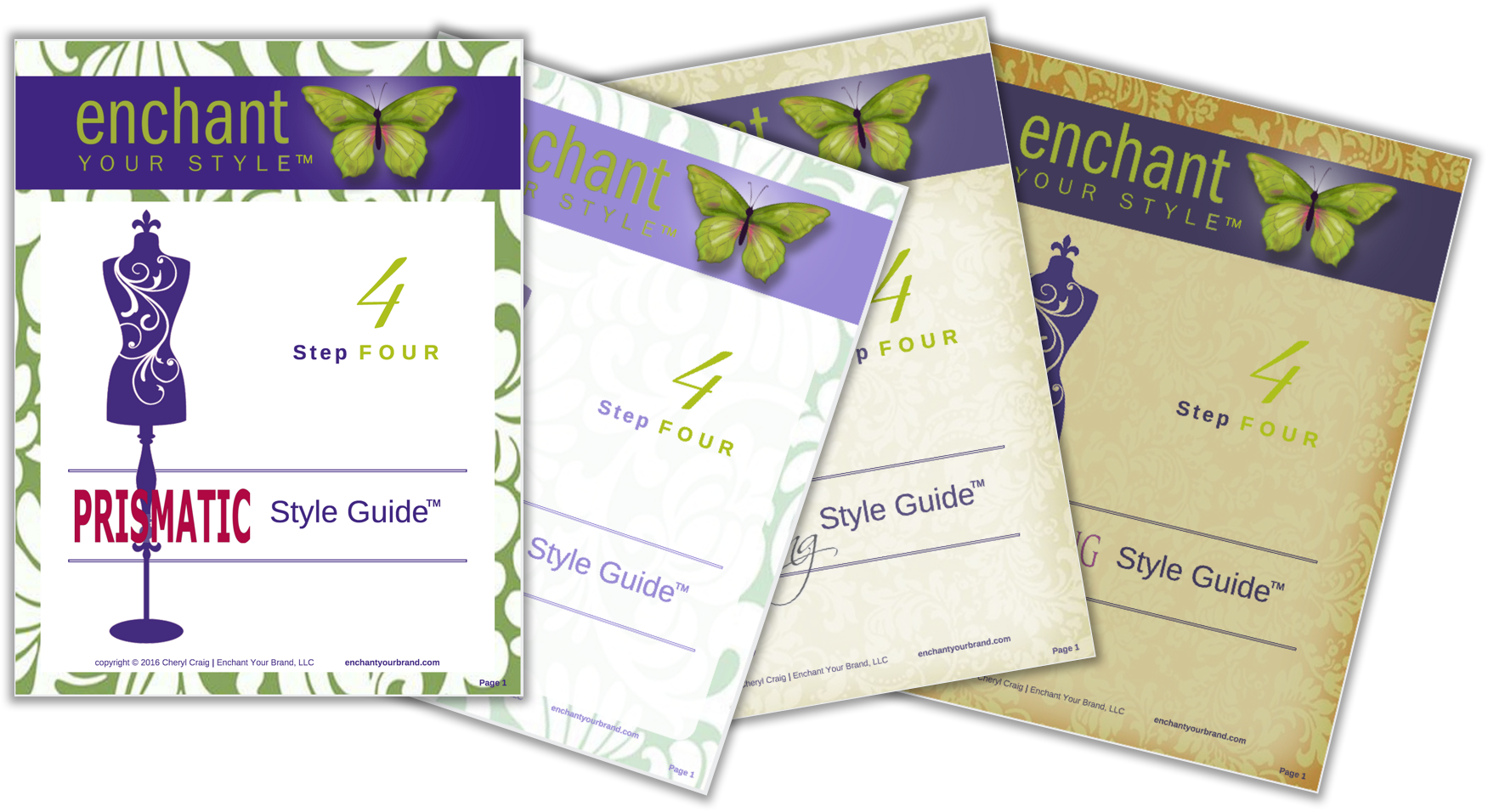 Step 4 Style Guide All 4 Cover Images